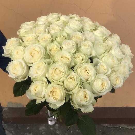Большой Белый: букеты цветов на заказ Flowwow