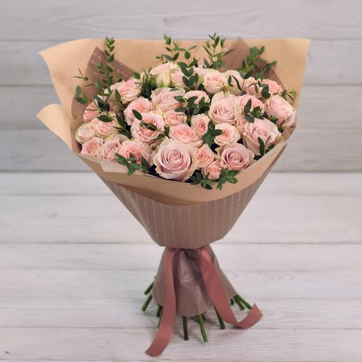 Букет Крем-брюле: букеты цветов на заказ Flowwow