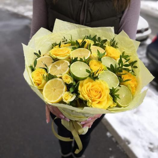 Букет «Витаминка»: букеты цветов на заказ Flowwow