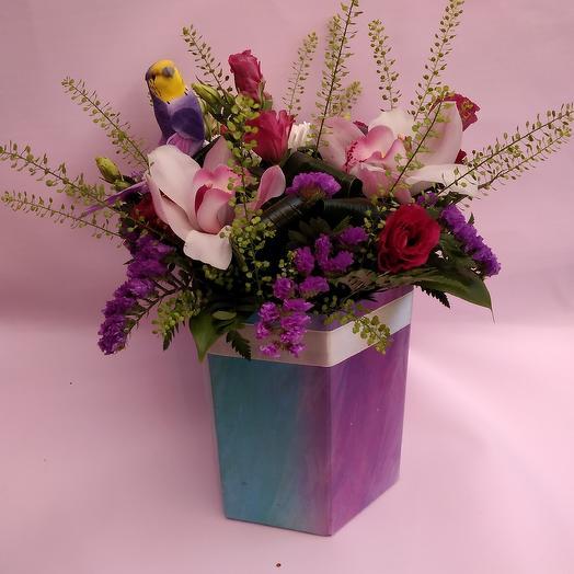 Птица дивная: букеты цветов на заказ Flowwow