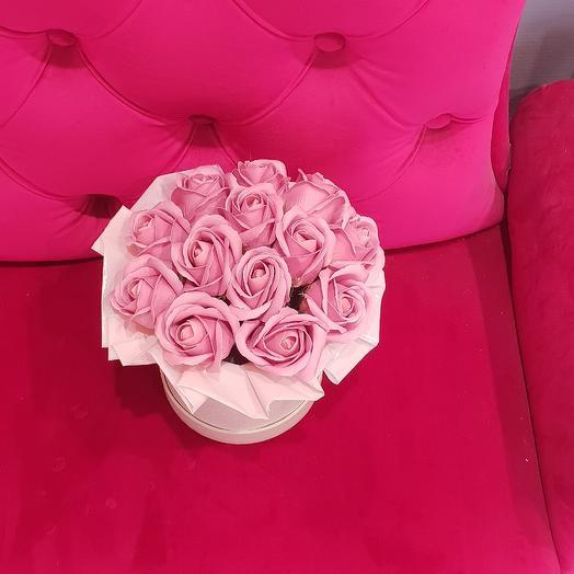 Пудровый бриз: букеты цветов на заказ Flowwow