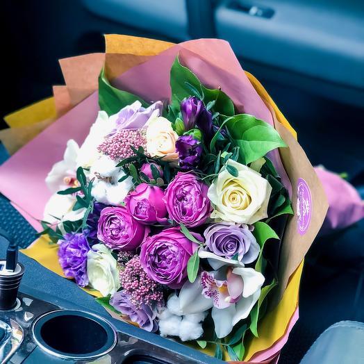 Букет Изумительный: букеты цветов на заказ Flowwow