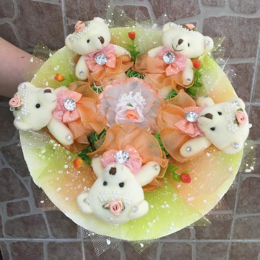 Букет из игрушек: букеты цветов на заказ Flowwow