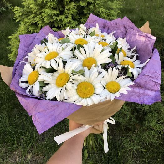 Букет 15 ромашек: букеты цветов на заказ Flowwow