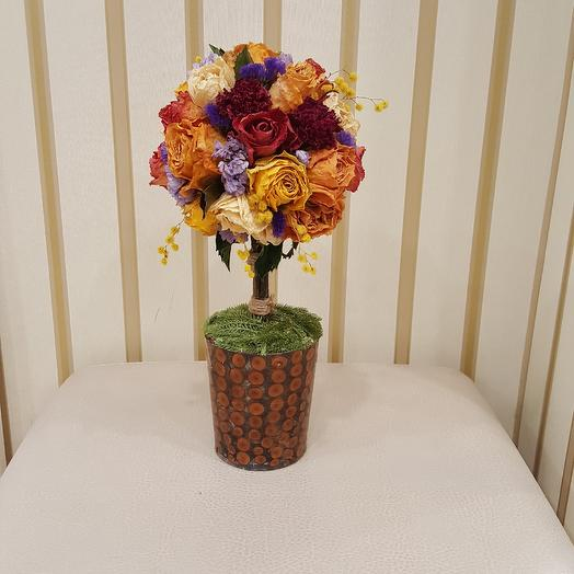 Топиарий: букеты цветов на заказ Flowwow