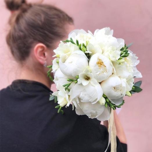 """Свадебный букет """"Подарок ангела"""": букеты цветов на заказ Flowwow"""