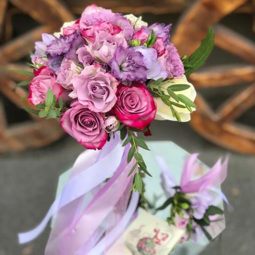 """Свадебный букет """"Жемчужина красоты"""": букеты цветов на заказ Flowwow"""