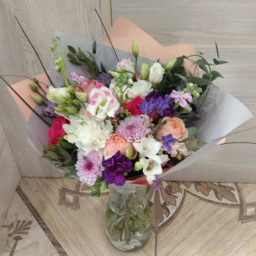 Ты - мой мир: букеты цветов на заказ Flowwow