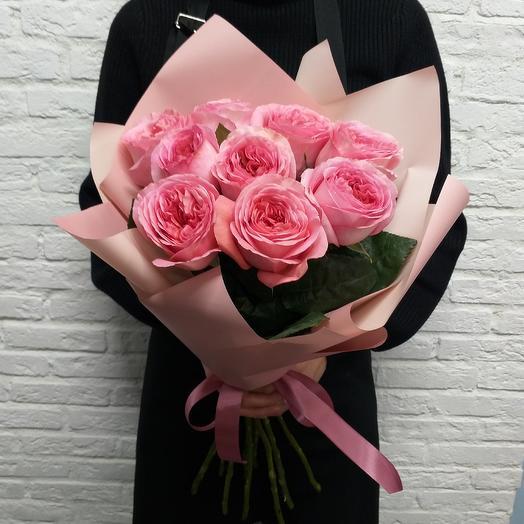 Ароматные пионовидные розы: букеты цветов на заказ Flowwow