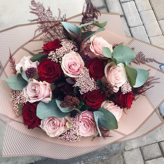 Меланзана: букеты цветов на заказ Flowwow