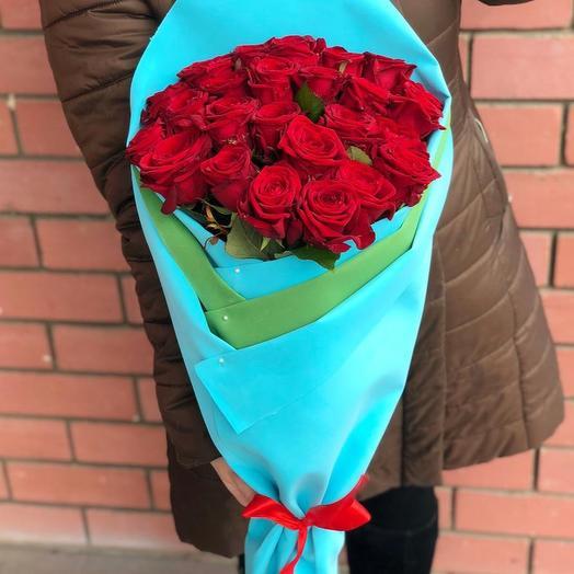 25 роз 🌹💋: букеты цветов на заказ Flowwow
