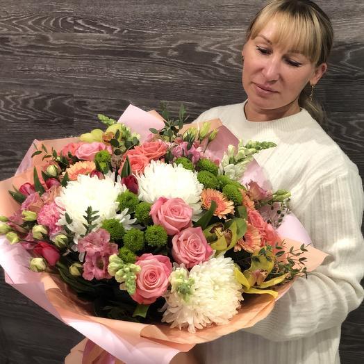 Мона Лиза: букеты цветов на заказ Flowwow