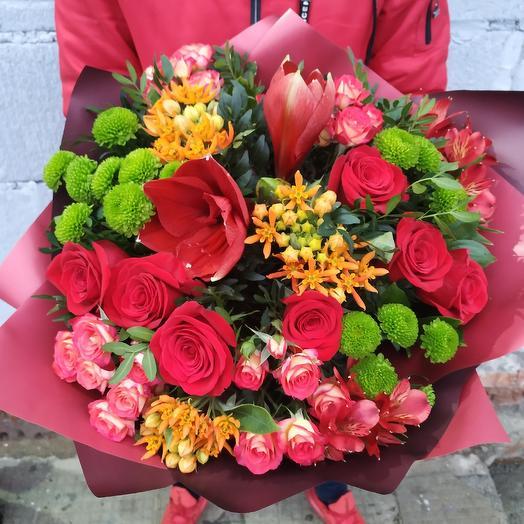 """Авторский букет """"Моя любовь"""": букеты цветов на заказ Flowwow"""