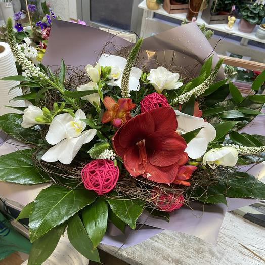 Райский остров: букеты цветов на заказ Flowwow