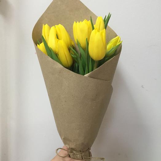 Тюльпан 15 шт: букеты цветов на заказ Flowwow
