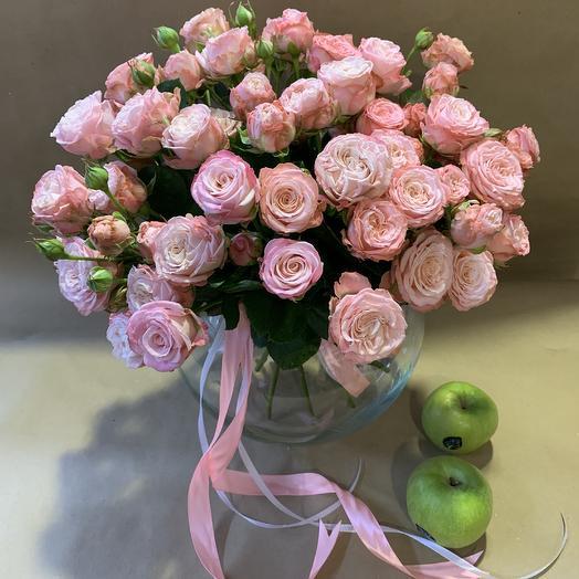 Букет Мадам Бомбастик: букеты цветов на заказ Flowwow