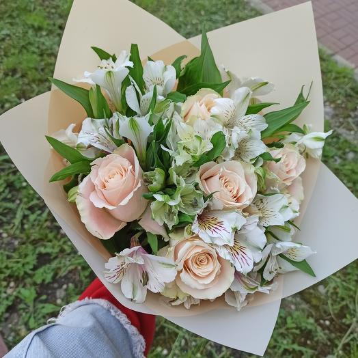Обворожительная нежность: букеты цветов на заказ Flowwow