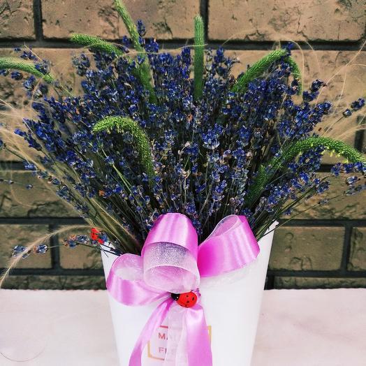 А.Лаванда: букеты цветов на заказ Flowwow