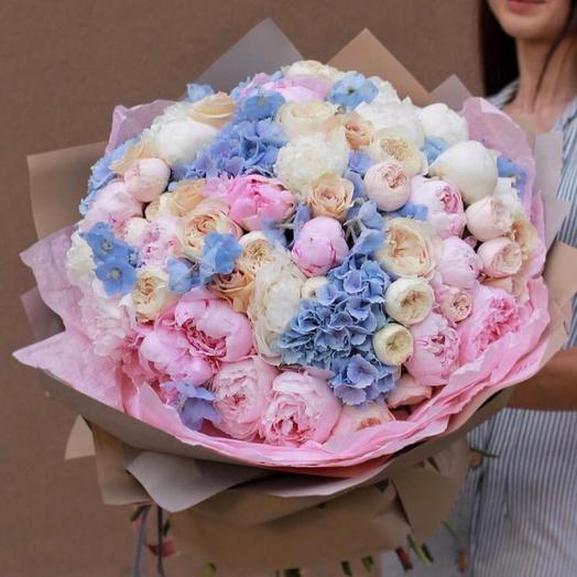 Букет цветов «Нежное очарование»