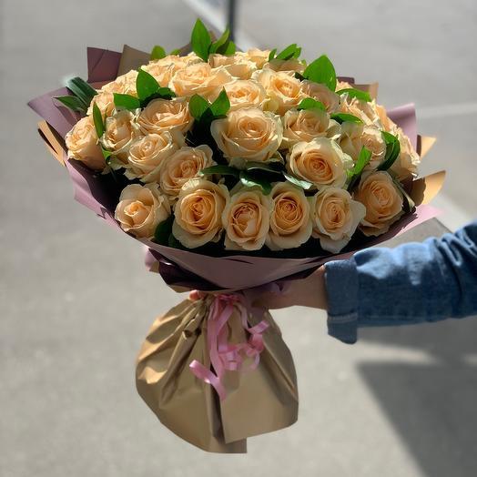 Букет из 35шт розы