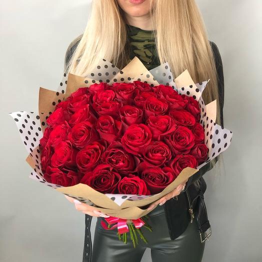 39 роз red passion