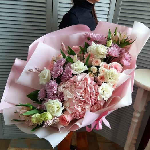 """Букет цветов """"Покоритель сердца !"""""""