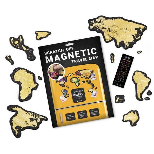 Скретч-карта мира Magnetic World