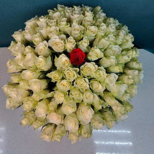 """Букет """"101 роза 50 см"""""""