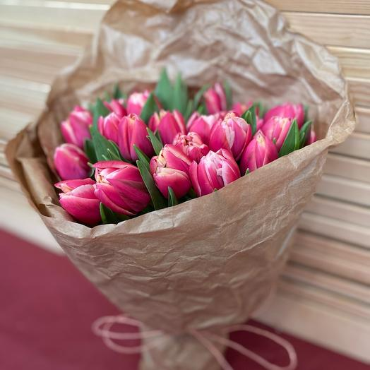Тюльпаны Пионовидные Колумбус
