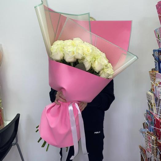 31 Роза Эквадор, упаковка фоамиран