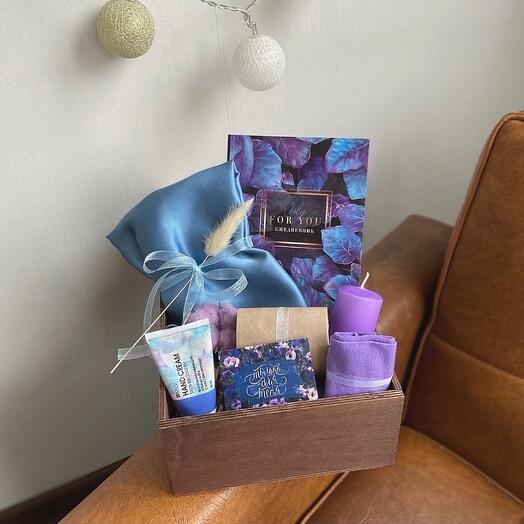Подарочный набор «Blueberry»