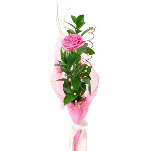 Букет Единственная: букеты цветов на заказ Flowwow