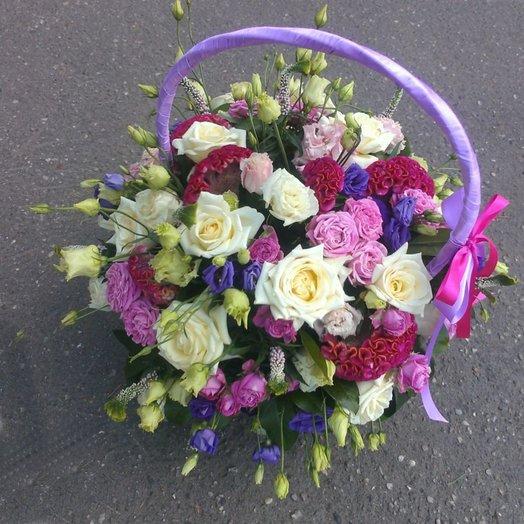Оттенки хорошего настроения: букеты цветов на заказ Flowwow
