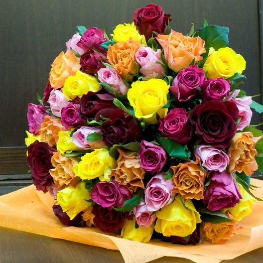 """Букет роз """"51 инстаграм"""": букеты цветов на заказ Flowwow"""
