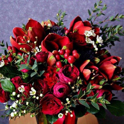 Безумная страсть: букеты цветов на заказ Flowwow