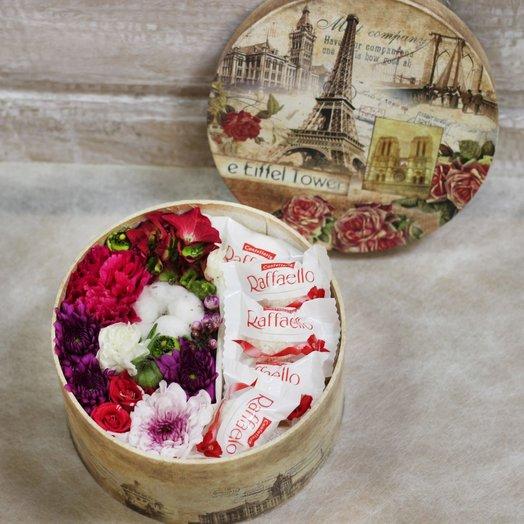 French sweets M 2: букеты цветов на заказ Flowwow