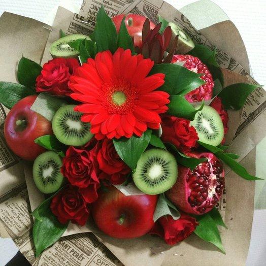 Гранатовый браслет: букеты цветов на заказ Flowwow