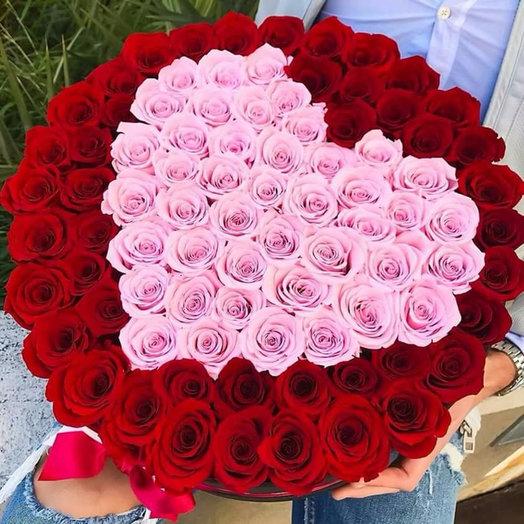 """Букет """"Валентин"""" из 101 розы"""