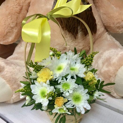 Корзинка 92: букеты цветов на заказ Flowwow
