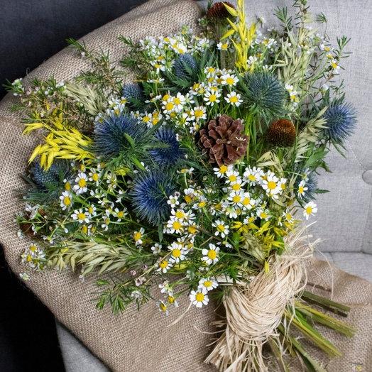 Ветер в поле: букеты цветов на заказ Flowwow