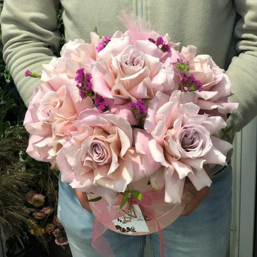 Коробка файза: букеты цветов на заказ Flowwow