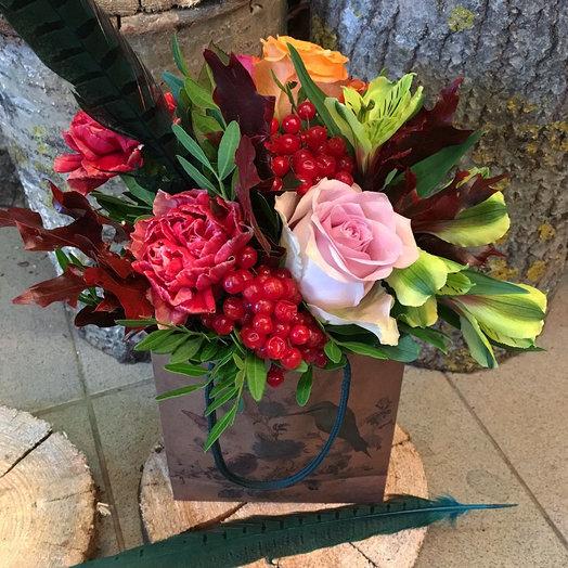 Птица счастья: букеты цветов на заказ Flowwow