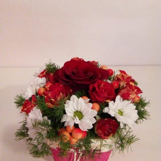 Яркая осень: букеты цветов на заказ Flowwow