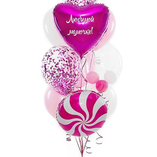 Букет Любимой мамочке малиновый: букеты цветов на заказ Flowwow