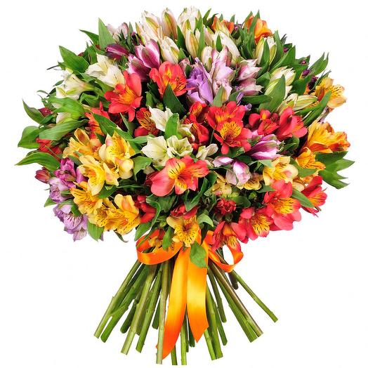Букет 154 Альсти: букеты цветов на заказ Flowwow