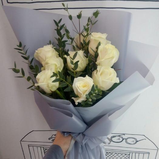 Белая вуаль: букеты цветов на заказ Flowwow
