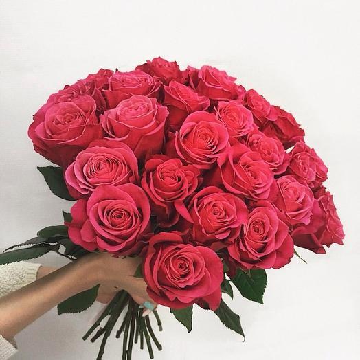 """""""Букет из 25 роз"""": букеты цветов на заказ Flowwow"""