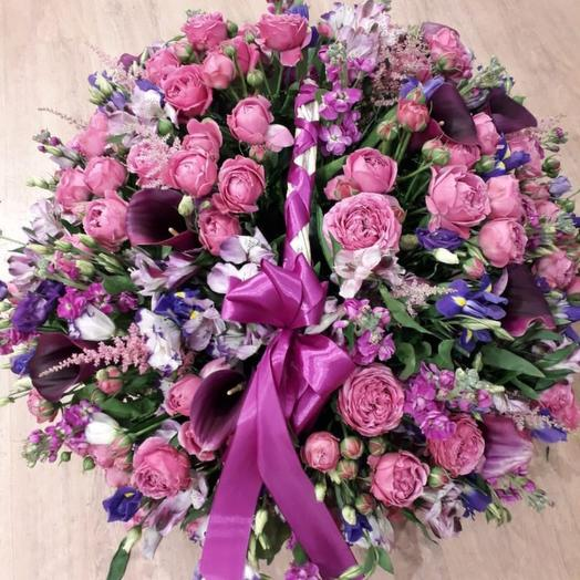 Корзина Mistic: букеты цветов на заказ Flowwow