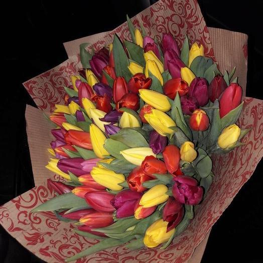 Комплимент весны: букеты цветов на заказ Flowwow