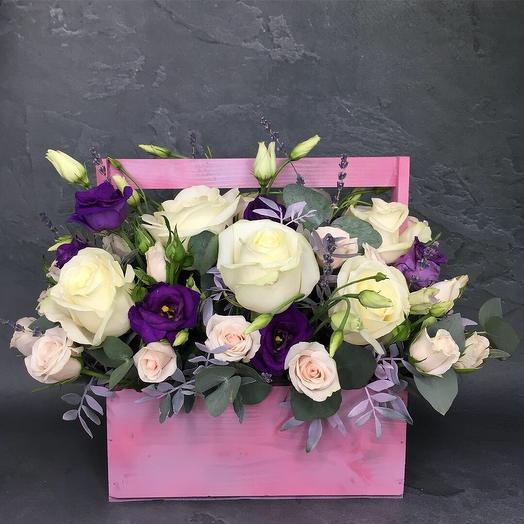 Черничное мороженое: букеты цветов на заказ Flowwow